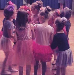 Pre-Ballet excitement